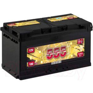 Автомобильный аккумулятор 555 Premium 100 R