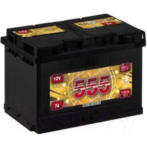 Автомобильный аккумулятор 555 Premium 74 R