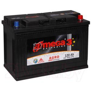 Автомобильный аккумулятор A-mega Agro 120 R