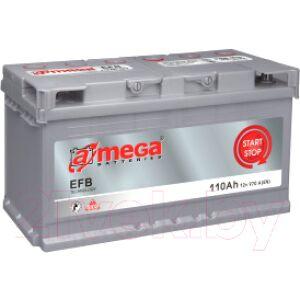 Автомобильный аккумулятор A-mega EFB 110.0 R+