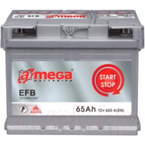 Автомобильный аккумулятор A-mega EFB 65.0 R+