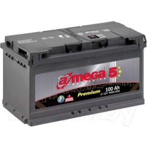 Автомобильный аккумулятор A-mega Premium 6СТ-100-А3 R
