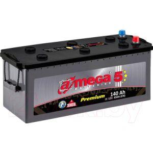 Автомобильный аккумулятор A-mega Premium 6СТ-140-А3
