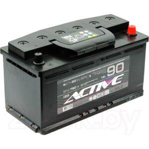 Автомобильный аккумулятор Active Frost Frost 6СТ-90 Евро / AF90ЗR