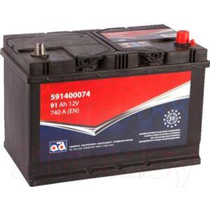 Автомобильный аккумулятор AD 591400074
