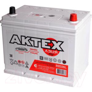 Автомобильный аккумулятор АкТех Asia 6СТ-70 Евро / ATCA70ЗR