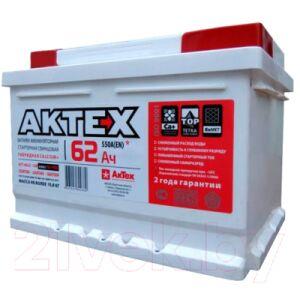 Автомобильный аккумулятор АкТех EFB 6СТ-62 Евро низкий / ATEFB62ЗR