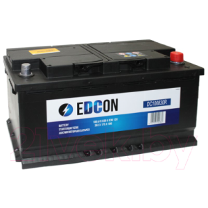 Автомобильный аккумулятор Edcon DC100830R