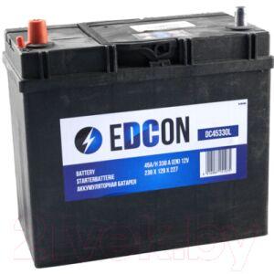 Автомобильный аккумулятор Edcon DC45330L
