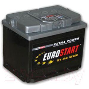 Автомобильный аккумулятор Eurostart ES 6CT-55