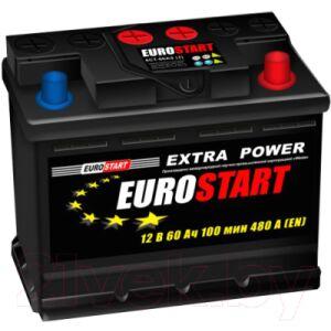 Автомобильный аккумулятор Eurostart Extra Power L+