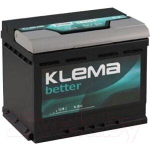Автомобильный аккумулятор Klema Better 6СТ-60 АзЕ
