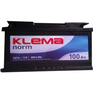 Автомобильный аккумулятор Klema Norm 6CT-100 АзЕ