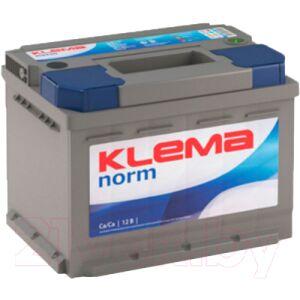 Автомобильный аккумулятор Klema Norm 6CT-50 АзЕ