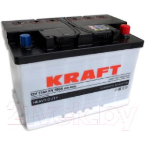 Автомобильный аккумулятор KrafT 77 R / KR77.0