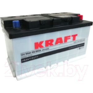 Автомобильный аккумулятор KrafT 90 R / KR90.0