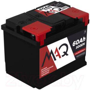 Автомобильный аккумулятор MAQ 6СТ-60N 500А