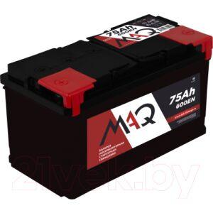 Автомобильный аккумулятор MAQ 6СТ-75N 600А