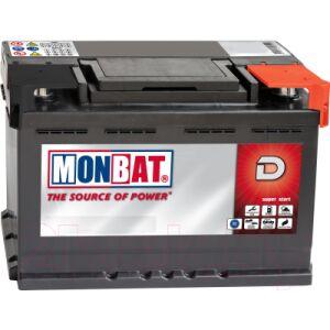 Автомобильный аккумулятор Monbat A67B2W0_1 низкий