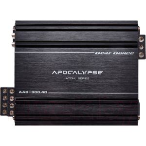 Автомобильный усилитель Alphard Apocalypse AAB-300.4D Atom