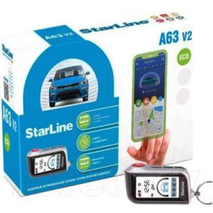 Автосигнализация StarLine A63 2CAN+2LIN Eco V2