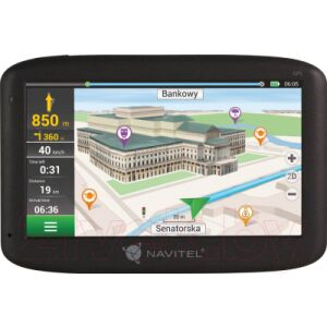 GPS навигатор Navitel MS600 с ПО