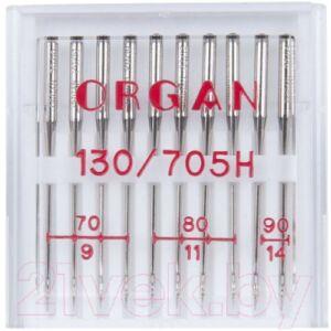 Иглы для швейной машины Organ 10/70-90