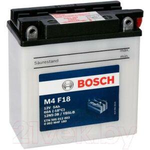 Мотоаккумулятор Bosch M4 12N5-3B/YB5L-B 505012003 / 0092M4F180