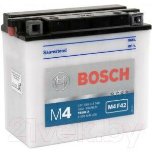 Мотоаккумулятор Bosch M4 YB18L-A 518015018 / 0092M4F420
