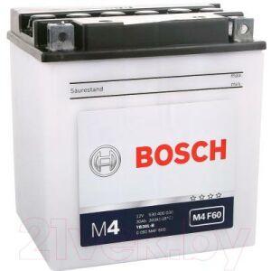 Мотоаккумулятор Bosch M4 YB30L-B 530400030 / 0092M4F600