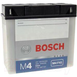 Мотоаккумулятор Bosch M4F 51814 / 0092M4F410