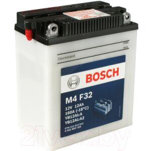 Мотоаккумулятор Bosch M4F YB12AL-A/YB12AL-A2 / 0092M4F320