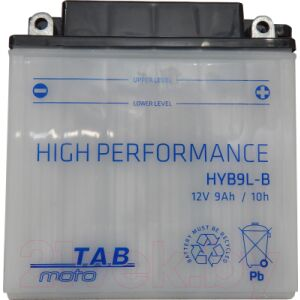 Мотоаккумулятор TAB AGM YB9L-B / 184515