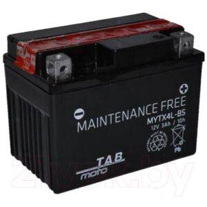 Мотоаккумулятор TAB AGM YTX4L-BS / 112515