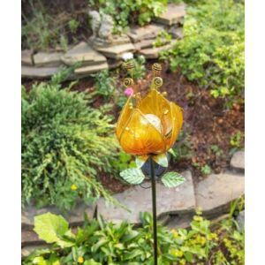 Садовая фигура-светильник Чудесный Сад Тюльпан желтый / 685-Y